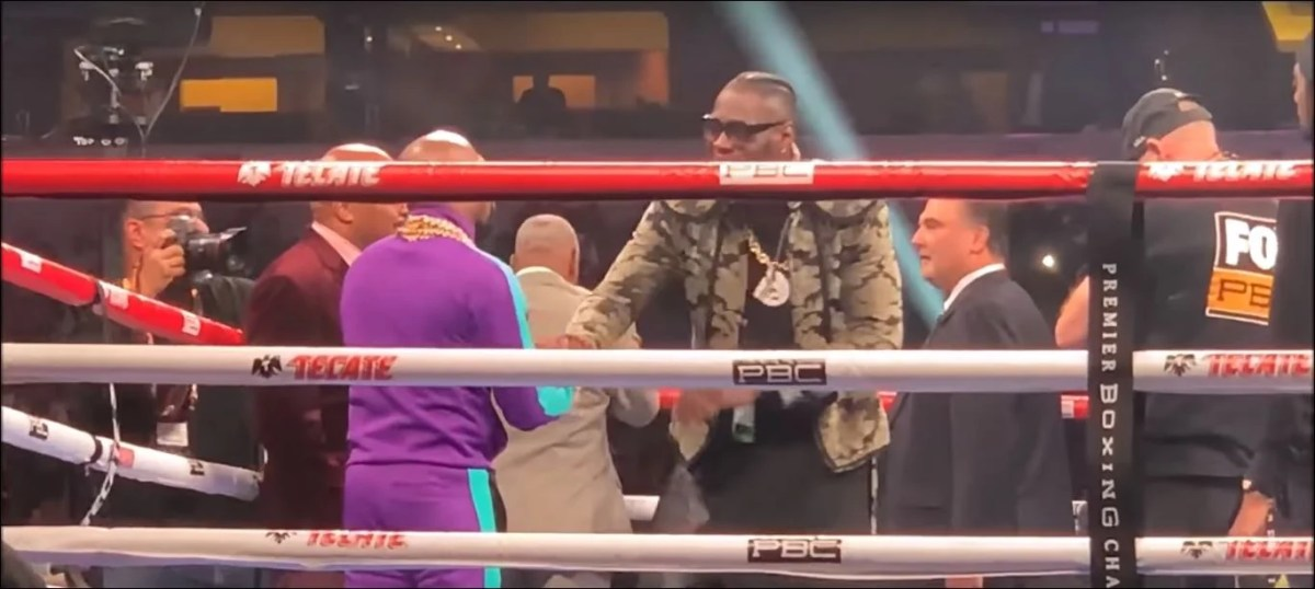Watch: Deontay Wilder Buries The Hatchet With Floyd Mayweather